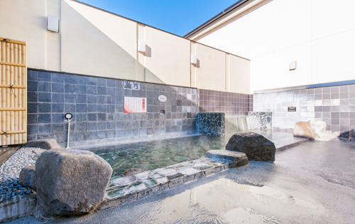 OPEN AIR BATH 露天風呂